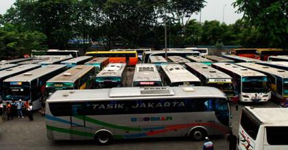 Terminal Poris Plawad di Kota Tangerang. (bbs)