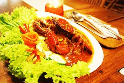 Kepiting Saus Bangkok