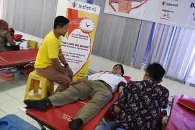 Donor Darah Indosat