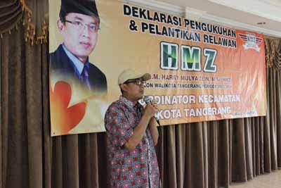 Dukungan Relawan HMZ