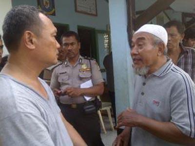 Suasana Kediaman Kodrat Abu Umar