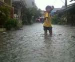 Banjir Perumahan Reni Jaya Ciputat Tangerang Selatan