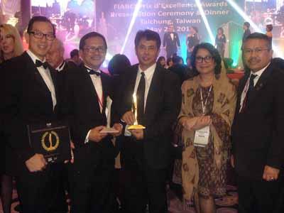 Sinar Mas Land Raih World FIABCI Award 2013