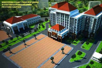 Gedung Puspemkot Tangsel
