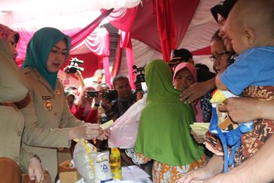 Pasar Sembako Murah Tangsel