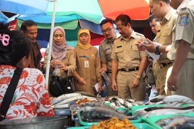 Sidak Disperindag Pasar Ciputat