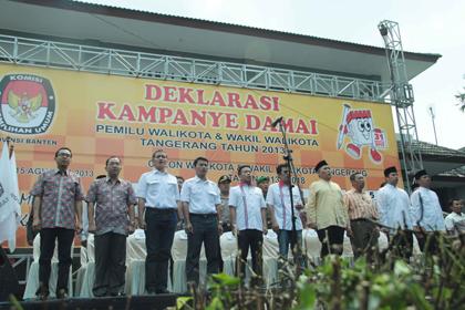 Kampanye Damai Pemilukada Kota Tangerang