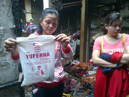 Pasar Jombang Terbakar