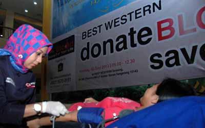Donor Darah Best Western Serpong
