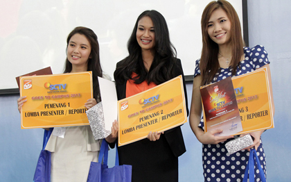 Juara News Presenter Competition