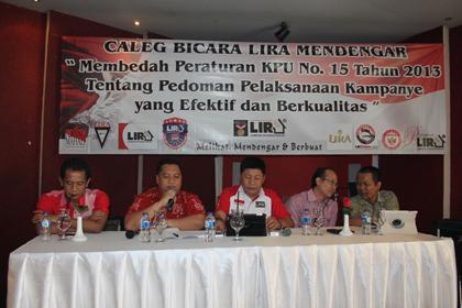 LIRA Bedah PKPU No 15 Tahun 2013