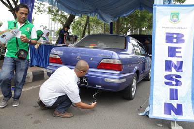 Uji Emisi Kota Tangerang