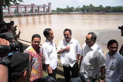 Jokowi di Tangerang