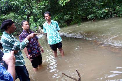 Walikota Tangerang Sidak Banjir