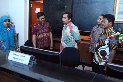 Walikota Tangerang Tinjau RSUD