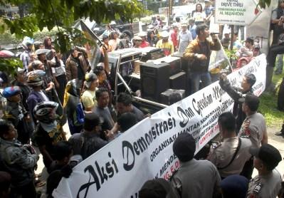 Demo Sekda Tangsel