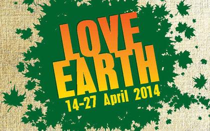 3x5 love earth