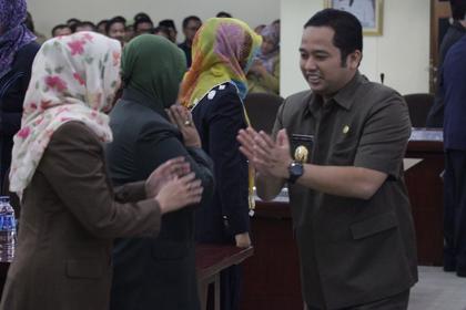 Walikota Tangerang dalam suatu kesempatan.(nai)