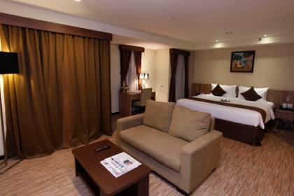 Salah satu room di Grand Serpong Hotel.(ist)