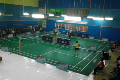 Salah satu pertandingan di Kejurprov Banten 2014.(one)