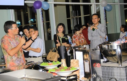 Perayaan HUT ke-1 Hotel Mercure Alam Sutera.(man)