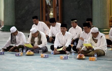 Suasana peringatan tahun baru Islam di Kota Tangerang.(hms)