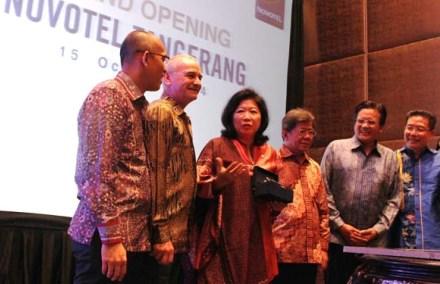 Grand Launching Novotel Tangerang.(bud)
