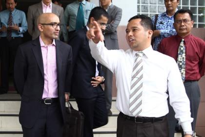 Walikota Tangerang Arief R Wismansyah (kanan).(hms)