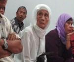 Hj Fatimah dalam persidangan di PN Tangerang.(sdn)