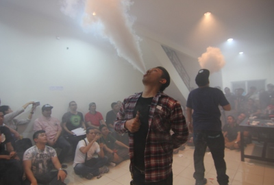 Cloud Chasing Competition di Fog Town Vape.(one)