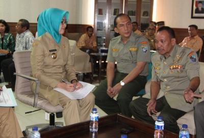 FKPPI audiensi dengan Walikota Tangsel.(one)