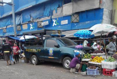 Salah satu sudut Pasar Ciputat.(one)