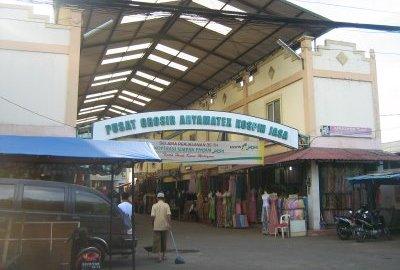 Pintu masuk Pasar Cipadu.(konveksicipadu)