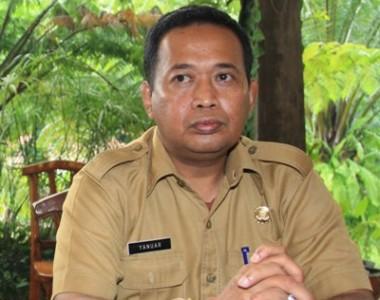 Kepala Kantor Budpar Tangsel, Yanuar.(one)