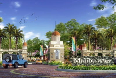 Malibu Village di Gading Serpong.(ist)