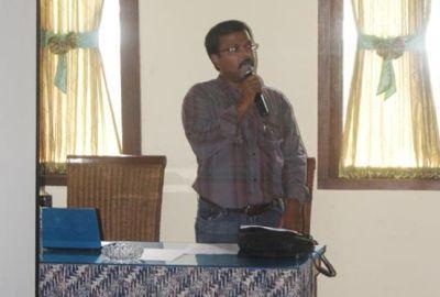 Sekretaris Forum RW Tangsel, Jaya Selwan.(bbs)