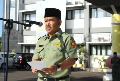 Walikota Serang, Tb Haerul Jaman.(bbs)