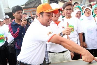 Walikota Tangerang, Arief R Wismansyah.(bbs)