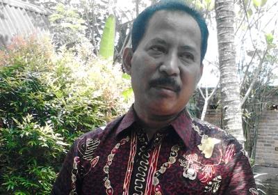 Kepala Disperindag Kota Tangsel, Muhammad.(one)