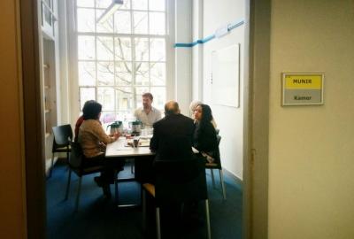 Rapat umum di Humanity House di Den Haag.(rls)