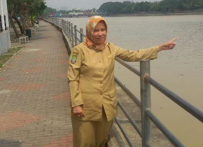 Kadisporparekraf Kota Tangerang, Raden Rina Hernaningsih.(nai)