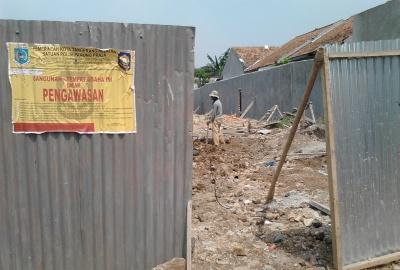 Lokasi perumahan Kayu Putih Residence di Kelurahan Sawah.(one)