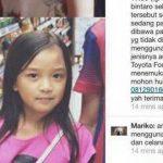 Gadis Cilik Dilaporkan Hilang di Bintaro