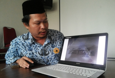 Sekretaris DTKBP Kota Tangsel Mukoddas Syuhada.(man)