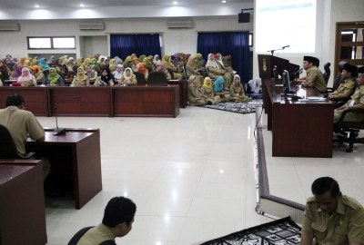 Pengajian Ramadhan Pemkot Tangerang.(hms)