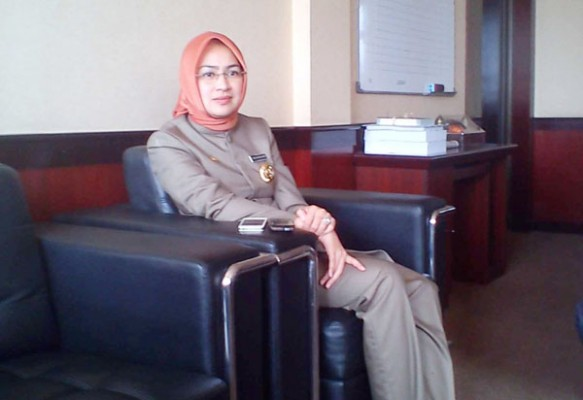 Walikota Tangsel, Airin Rachmi Diany. (bbs)