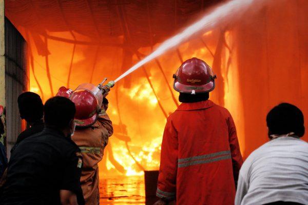 Ilustrasi kebakaran. (net)