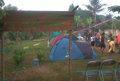 Ramadhan Camp di Gang Masjid, Kelurahan Setu. (ist)