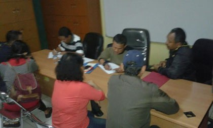 Razia Satpol PP Tangerang