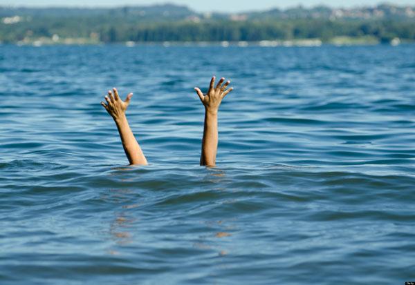 Tenggelam di Sungai Cisadane